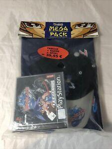 NEU PS1 Beyblade Mega Pack Limited Sealed PlayStation Guter Zustand PAL Deutsch