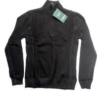 L.L.Bean Pullover Gr. XS Schwarz Merinowolle