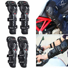 00004000 Dirt Bike Adult Elbow Knee Shin Protective Armor Guard Pads Protector Off Road