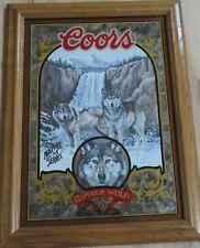 TIMBER WOLF - Coors Beer Mirror    (SKU061)