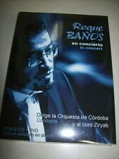 CD - ROQUE BAÑOS - IN CONCERT - DOUBLE CD + DVD - SEALED - SPAIN - 2009