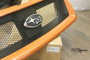 Genuine Subaru - Sport Mesh Grille Orange Pearl - 2013-2015 - XV Crosstrek