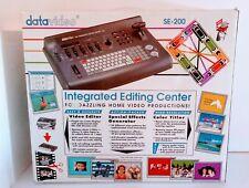 Datavideo SE-200 Editing Center w/ TBC Time Base Corrector Immaculate! Rare 1000