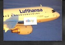 "LUFTHANSA GERMAN AIRLINES AIRBUS AIRBUS A320 ""HEIDELBERG"" AIRLINE ISSUE POSTCARD"