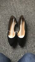 Womens Mossimo Supply Co Mohana Flats Solid Black