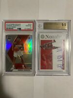 Admiral Schofield PSA 10 BGS 9.5 2 Card Lot Wizards Panini Rookie Silver Prizm