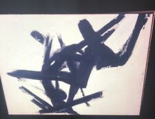 "Franz Kline ""Black & White"" Abstract Expressionism Painting 35mm Art Slide"