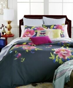 BLUEBELLGRAY BUTTERFLY TWIN EXTRA LONG DUVET SET MSRP $168 NEW IN PACKAGE