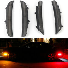 Smoked Front & Rear LED Side Marker Light Lamp 4pcs For  Dodge Charger 2015-2019