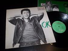 "Edoardo Bennato ""Ok Italia"" LP inner Virgin – VEB 09 Italy 1987"