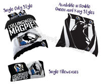 Collingwood Magpies 2018 AFL Quilt Cover Doona Pillowcase All Sizes Available