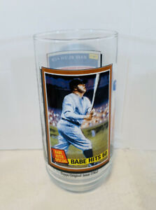 Babe Ruth 1993 McDonalds Drinking Glass