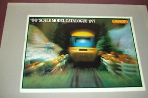 Hornby Railways '00'  Scale Model Catalogue 1977 + Price List New