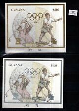 /// GUYANA - MNH - GOLD + SILVER - OLYMPICS, GOLF, TENNIS, CHESS