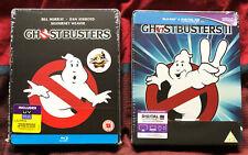Ghostbusters Steelbooks Teil 1 & 2 Blu-ray NEU OVP