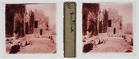 Baalbek Libano Foto T4P7 Placca Da Lente Stereo 1935