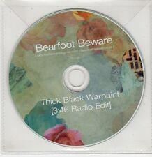 (GS645) Bearfoot Beware, Thick Black Warpaint - DJ CD