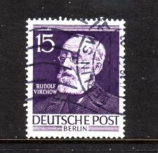 Germany -Berlin. 1952 15pf virchow used