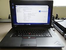 Lenovo Thinkpad Edge 15 Laptop 2.53GHz i-3 M380 4GB 320GB HDD Windows 10 Pro