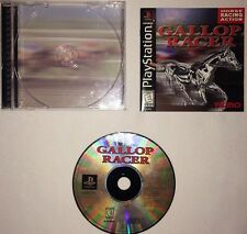 Gallop Racer Playstation One PSOne Horse Racing Rare