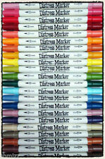 Tim Holtz DISTRESS Marker Pen Set You Pick 10    FREE SHIP  All colors available