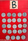 24 monete 10 lire repubblica italiana dal 1951 al 1956 dal 1967 al 1985 lotto B