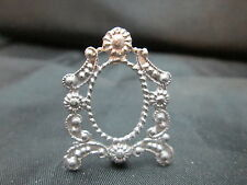 Dollhouse Miniature Unfinished Metal Table Frame #5