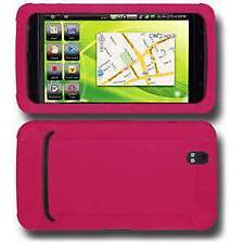 AMZER Silicone Soft Skin Jelly Back Case Cover For Dell Streak Hot Pink
