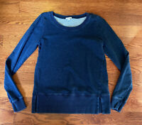 Splendid Blue Active Pullover Sweatshirt Women's Size Small