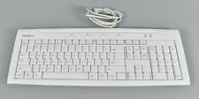 MACALLY iKey Slim USB IKEY5 Keyboard w/ 2USB Ports Apple