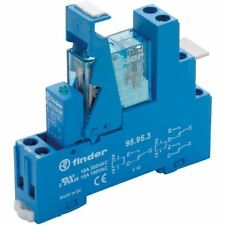 FINDER 49.52.8.230.0060 Interfaccia Modulo relè 230Vac DPDT + varistore E LED