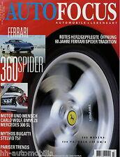 Auto Focus 5/00 2000 YES Alfa Sportwagon Bugatti T57 Stelvio Jaguar XKR Astura