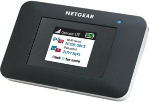 NETGEAR Mobile Wi-Fi Hotspot, 4G LTE Router AC797-100NAS, 400Mbps Download Speed