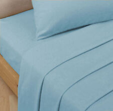 """PERCALE EXTRA DEEP FITTED 16""""/40 CM SIZE SINGLE, DOUBLE, KING, SUPER KING SHEETS"""