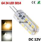 G4 G9 E14 64 LED cristal de silicona Bombilla luz Spotlight 3014 SMD Lámpara