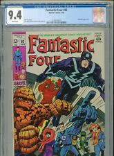 1969 MARVEL FANTASTIC FOUR #82 INHUMANS APPEARANCE CGC 9.4 WHITE BOX6