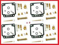 KR 4x Vergaser Reparatur Satz YAMAHA XJ 750 Seca ... Carburetor Repair Set New