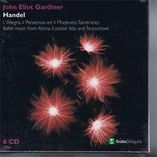 CD NEW SEALED ERATO 6 CD GARDINER - HANDEL OPERAS