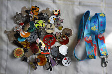 Disney pin trading Starter Set Lanyard + 50 pin lot NEW Ariel Little Mermaid