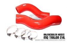 Triton MQ 2.4l Intercooler hose kit Reinforced Silicone RED turbo diesel 2016+