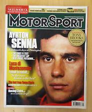 British Motor Sport Car Racing Magazine May 2013 *Ayrton Senna