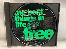 Luther Vandross Janet Jackson The Best Things In Life Are Free CD (PROMO Single)