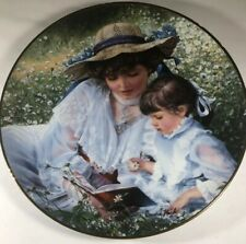 Sandra Kuck Plate Once Upon A Time Mothers Day Reco 1985 Original Box