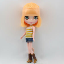 "[Tii] Takara 12"" Neo Blythe MANGO short hair Factory Nude doll for Custom Use"