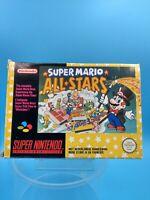 jeu video complet super nintendo SNES complet FAH super mario all stars