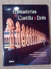 MONASTERIOS DE CASTILLA Y LEÓN - libro de gran formato