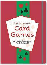 """""""VERY GOOD"""" The Mini Manual of Card Games, , Book"""