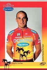 CYCLISME carte cycliste ANGELO FURLAN équipe DOMINA VACANZE 2005