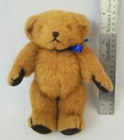 Vintage Mohair(?) Teddy Bear by Bedford Bears England UK 9 Inches Tall Jointed