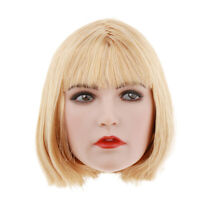 1/6 Female Head Sculpt 1/6 Scale Female Headplay Woman Head Sculpt Plastic